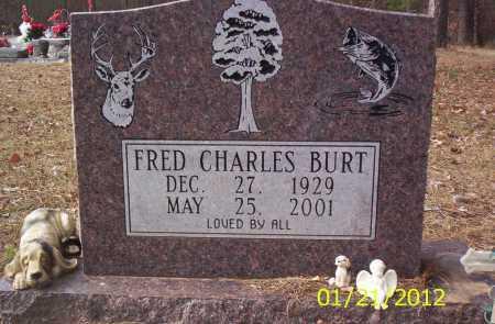 BURT, FRED CHARLES - Drew County, Arkansas | FRED CHARLES BURT - Arkansas Gravestone Photos