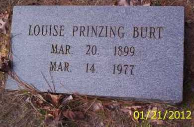 PRINZING BURT, LOUISE - Drew County, Arkansas | LOUISE PRINZING BURT - Arkansas Gravestone Photos