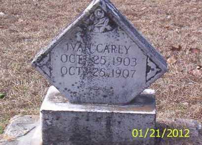 CAREY, IVAN - Drew County, Arkansas | IVAN CAREY - Arkansas Gravestone Photos
