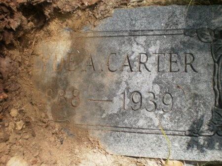 CARTER, CLYDE A. - Drew County, Arkansas   CLYDE A. CARTER - Arkansas Gravestone Photos
