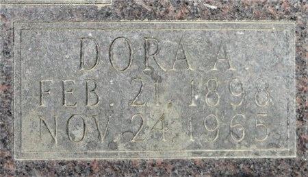 CASH, DORA A (CLOSE UP) - Drew County, Arkansas | DORA A (CLOSE UP) CASH - Arkansas Gravestone Photos