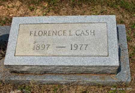 CASH, FLORENCE L - Drew County, Arkansas   FLORENCE L CASH - Arkansas Gravestone Photos