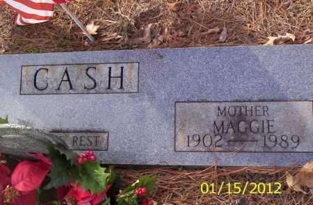 CASH, MAGGIE - Drew County, Arkansas | MAGGIE CASH - Arkansas Gravestone Photos