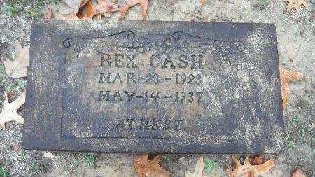 CASH, REX - Drew County, Arkansas | REX CASH - Arkansas Gravestone Photos
