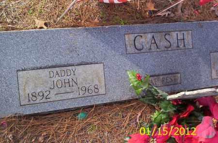 CASH, JOHN - Drew County, Arkansas | JOHN CASH - Arkansas Gravestone Photos