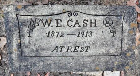 CASH, W E - Drew County, Arkansas | W E CASH - Arkansas Gravestone Photos