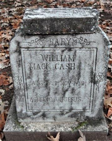 CASH, WILLIAM MACK - Drew County, Arkansas   WILLIAM MACK CASH - Arkansas Gravestone Photos