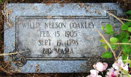 NELSON COAKLEY, WILLIE - Drew County, Arkansas | WILLIE NELSON COAKLEY - Arkansas Gravestone Photos
