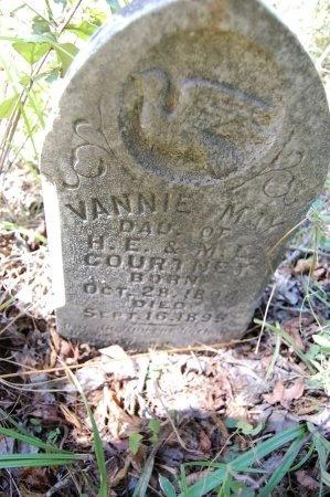 COURTNEY, VANNIE MAY - Drew County, Arkansas | VANNIE MAY COURTNEY - Arkansas Gravestone Photos