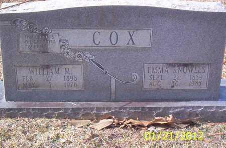 COX, EMMA - Drew County, Arkansas | EMMA COX - Arkansas Gravestone Photos