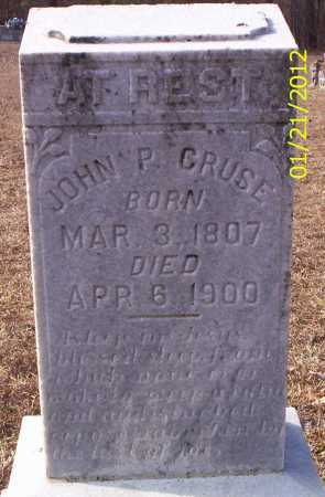 CRUCE, JOHN P - Drew County, Arkansas   JOHN P CRUCE - Arkansas Gravestone Photos