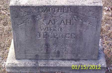 CRUCE, SARAH - Drew County, Arkansas | SARAH CRUCE - Arkansas Gravestone Photos