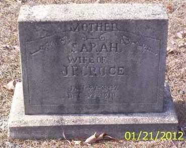 CRUCE, SARAH - Drew County, Arkansas   SARAH CRUCE - Arkansas Gravestone Photos