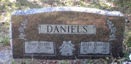 LEONARD DANIELS, HELEN - Drew County, Arkansas | HELEN LEONARD DANIELS - Arkansas Gravestone Photos