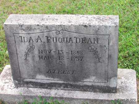 DEAN, IDA A - Drew County, Arkansas | IDA A DEAN - Arkansas Gravestone Photos