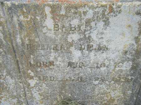 DEAN, NATARA (CLOSE UP) - Drew County, Arkansas | NATARA (CLOSE UP) DEAN - Arkansas Gravestone Photos