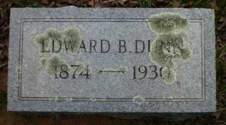 DUNN, EDWARD B - Drew County, Arkansas   EDWARD B DUNN - Arkansas Gravestone Photos