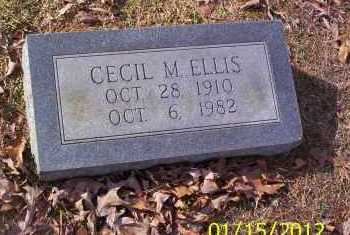 ELLIS, CECIL M - Drew County, Arkansas | CECIL M ELLIS - Arkansas Gravestone Photos