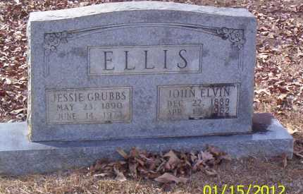 GRUBBS ELLIS, JESSIE - Drew County, Arkansas | JESSIE GRUBBS ELLIS - Arkansas Gravestone Photos