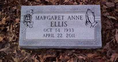ELLIS, MARGARET ANNE - Drew County, Arkansas | MARGARET ANNE ELLIS - Arkansas Gravestone Photos