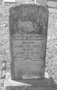 EUBANK, JOHN BERRY - Drew County, Arkansas | JOHN BERRY EUBANK - Arkansas Gravestone Photos
