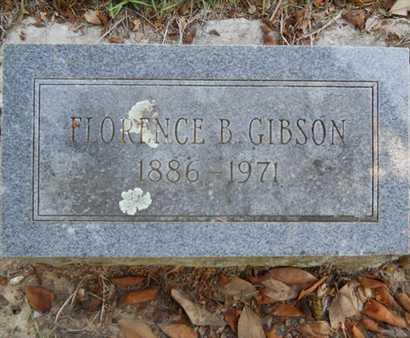 GIBSON, FLORENCE - Drew County, Arkansas | FLORENCE GIBSON - Arkansas Gravestone Photos