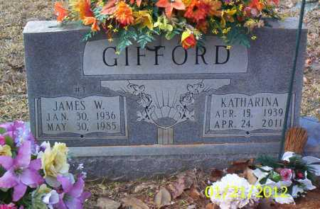 GIFFORD, JAMES WALTER - Drew County, Arkansas | JAMES WALTER GIFFORD - Arkansas Gravestone Photos