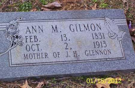 GILMON, ANN M - Drew County, Arkansas | ANN M GILMON - Arkansas Gravestone Photos