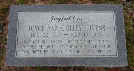 GULLEY GIVENS, JOYCE ANN - Drew County, Arkansas | JOYCE ANN GULLEY GIVENS - Arkansas Gravestone Photos