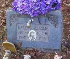 GLENNON, KAREN G - Drew County, Arkansas | KAREN G GLENNON - Arkansas Gravestone Photos