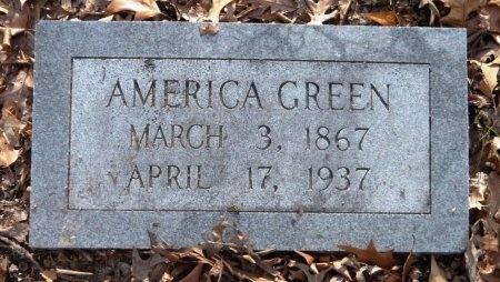 GREEN, AMERICA - Drew County, Arkansas | AMERICA GREEN - Arkansas Gravestone Photos