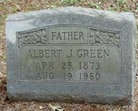 GREEN, ALBERT JONES - Drew County, Arkansas | ALBERT JONES GREEN - Arkansas Gravestone Photos