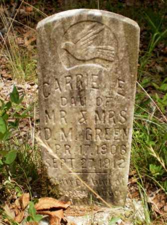 GREEN, CARRIE E. - Drew County, Arkansas   CARRIE E. GREEN - Arkansas Gravestone Photos