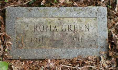 GREEN, DAVID ROMA - Drew County, Arkansas | DAVID ROMA GREEN - Arkansas Gravestone Photos