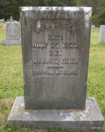 GREEN, E H - Drew County, Arkansas   E H GREEN - Arkansas Gravestone Photos