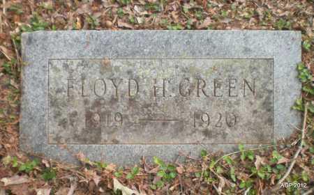 GREEN, FLOYD HARRISON - Drew County, Arkansas   FLOYD HARRISON GREEN - Arkansas Gravestone Photos