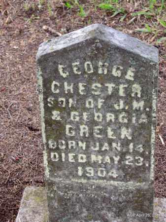 GREEN, GEORGE CHESTER - Drew County, Arkansas | GEORGE CHESTER GREEN - Arkansas Gravestone Photos