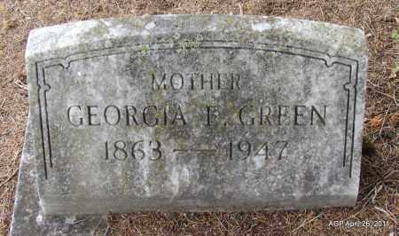 GREEN, GEORGIA E - Drew County, Arkansas | GEORGIA E GREEN - Arkansas Gravestone Photos