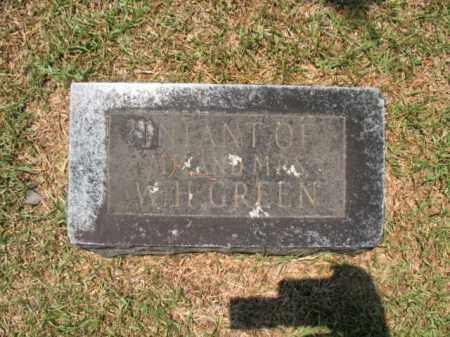 GREEN, INFANT - Drew County, Arkansas   INFANT GREEN - Arkansas Gravestone Photos