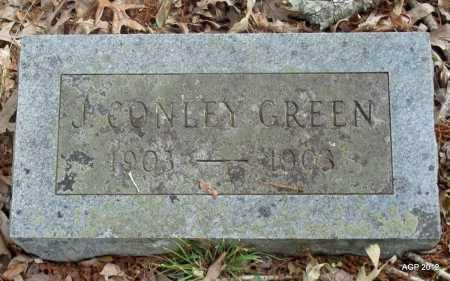 GREEN, JAMES CONLEY - Drew County, Arkansas | JAMES CONLEY GREEN - Arkansas Gravestone Photos