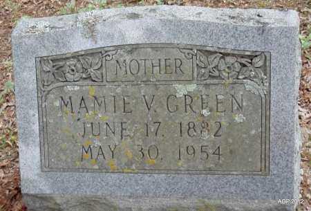 GREEN, MAMIE V - Drew County, Arkansas   MAMIE V GREEN - Arkansas Gravestone Photos