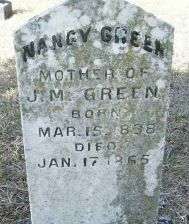 GREEN, NANCY - Drew County, Arkansas   NANCY GREEN - Arkansas Gravestone Photos