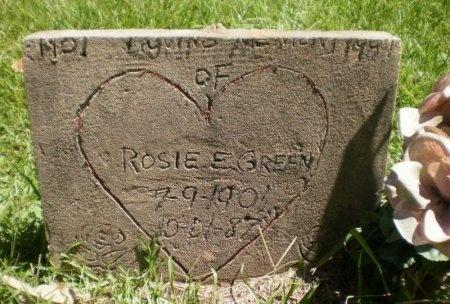 GREEN, ROSIE E. - Drew County, Arkansas | ROSIE E. GREEN - Arkansas Gravestone Photos