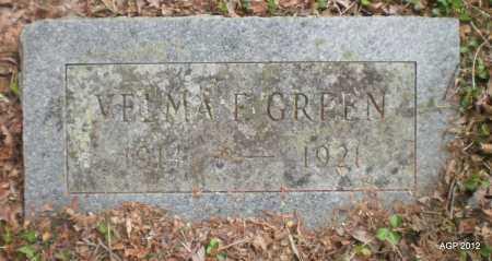 GREEN, VELMA FRANCES - Drew County, Arkansas | VELMA FRANCES GREEN - Arkansas Gravestone Photos