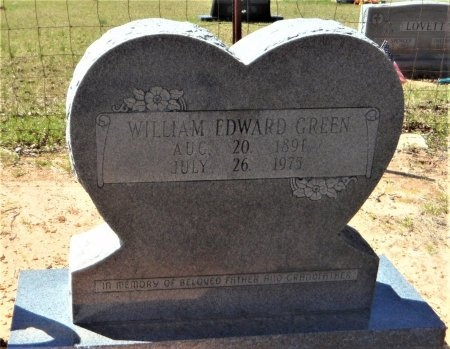 GREEN, WILLIAM EDWARD - Drew County, Arkansas | WILLIAM EDWARD GREEN - Arkansas Gravestone Photos