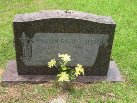 GREEN, WILLIAM DAVID - Drew County, Arkansas   WILLIAM DAVID GREEN - Arkansas Gravestone Photos
