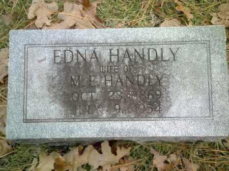 HANDLY, EDNA - Drew County, Arkansas | EDNA HANDLY - Arkansas Gravestone Photos