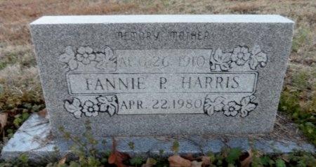 HARRIS, FANNIE P. - Drew County, Arkansas   FANNIE P. HARRIS - Arkansas Gravestone Photos