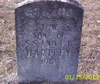 HARTLEY, J W - Drew County, Arkansas | J W HARTLEY - Arkansas Gravestone Photos