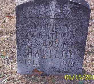 HARTLEY, MAUD V - Drew County, Arkansas | MAUD V HARTLEY - Arkansas Gravestone Photos
